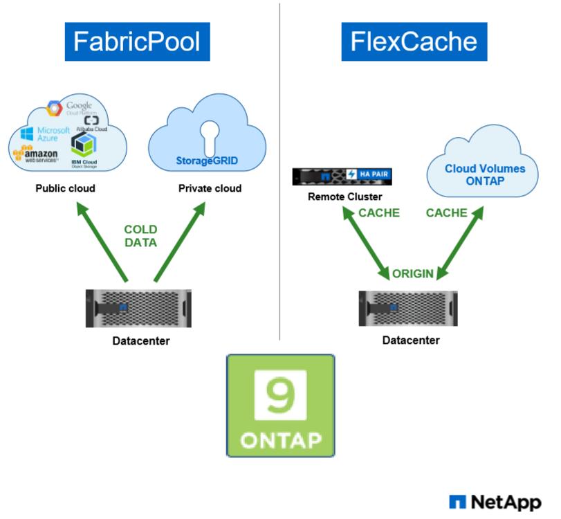 NetApp Fabric Pool e Flex Cache