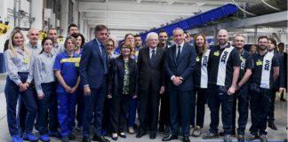 Inaugurazione Poste Italiane Hub Mattarella