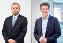 Jun Sawada, presidente e Ceo di NTT Corporation & Jason Goodall, global Ceo di NTT