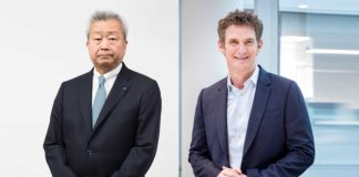 Jun Sawada, presidente e Ceo di NTT Corporation & Jason Goodall, global Ceo di NTT