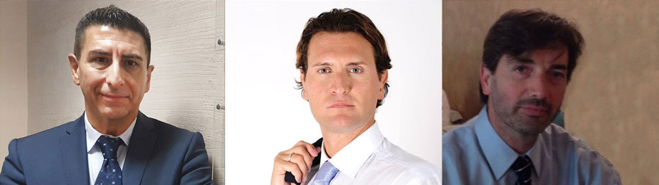 Roberto Rosa, managing director di Mediana -Paolo Cordero, sales director & cofounder di Enigen -Gianroberto Donadelli, amministratore delegato di Disc