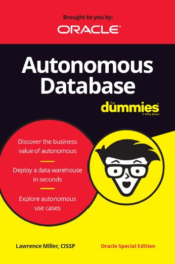 Autonomous Database for dummies