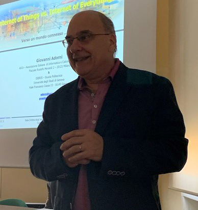 Giovanni Adorni, presidente di AICA
