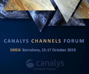 CANALYS CHANNELS FORUM 2019, 15-17 ottobre - Barcellona
