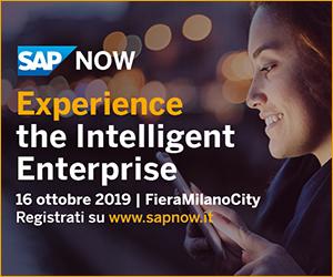 SAP NOW  Milano 2019, 16 ottobre