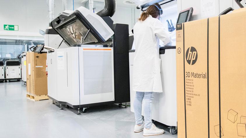 HP Centro di stampa 3D