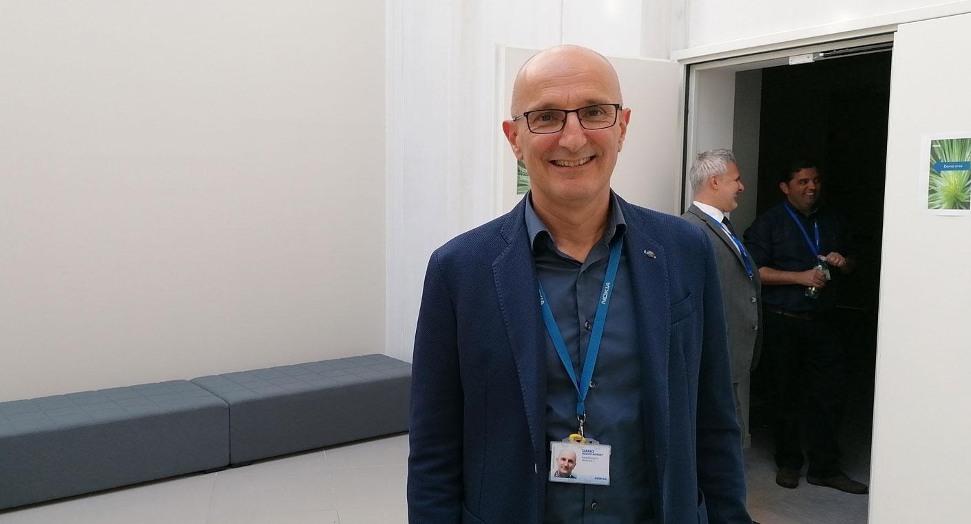 Dario Boggio, head of E2E solutions med market unit di Nokia