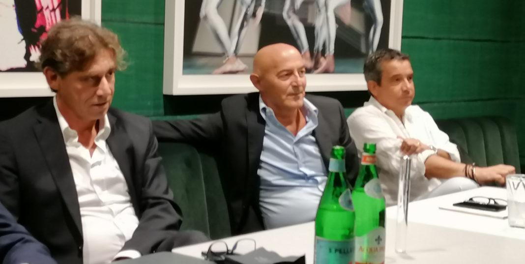 Marco Coppolino, founder di Consys.it - Alberto Fenini, Ceo di Consys.it - Edoardo Albizzati, direttore di theUNTOLD by Consys.it