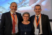 Giuliano Pozza, Presidente di AISIS, Annamaria Di Ruscio, Amministratore Delegato di NetConsulting cube e Paolo Macrì, Presidente di GGallery Group