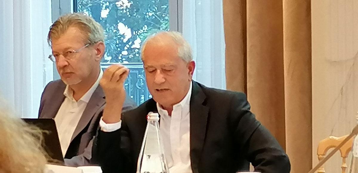 CIO Survey 2019 - Vittorio Arighi, Project Leader di NetConsulting cube e Giancarlo Capitani, Presidente di NetConsulting cube