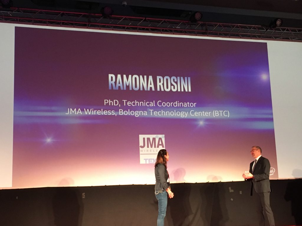 Ramona Rosini, PhD Technical Coordinator Jma Wireless, Btc