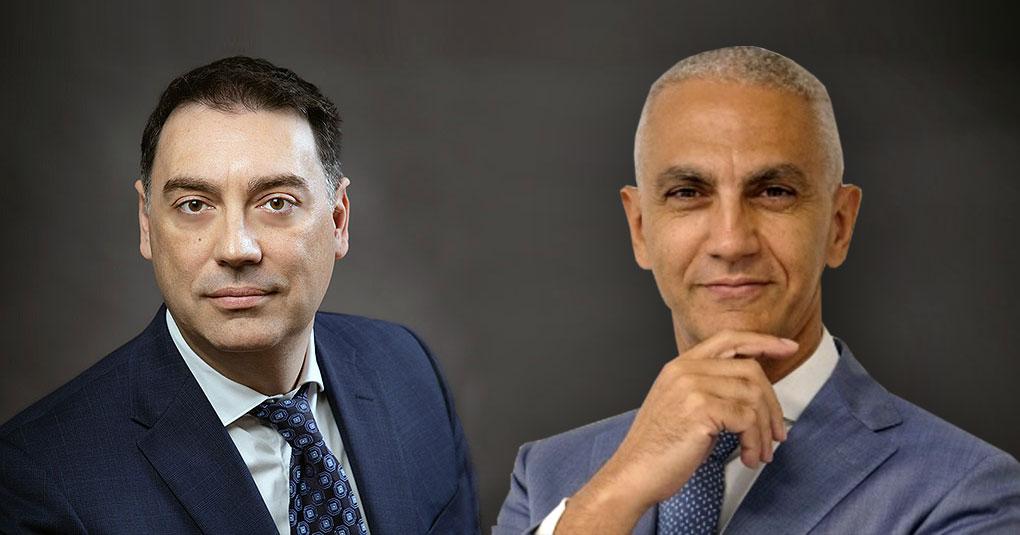Christian Turcati, sr. presales systems engineer manager di Nutanix Italia & Matteo Uva, sales manager business commercial di Nutanix Italia