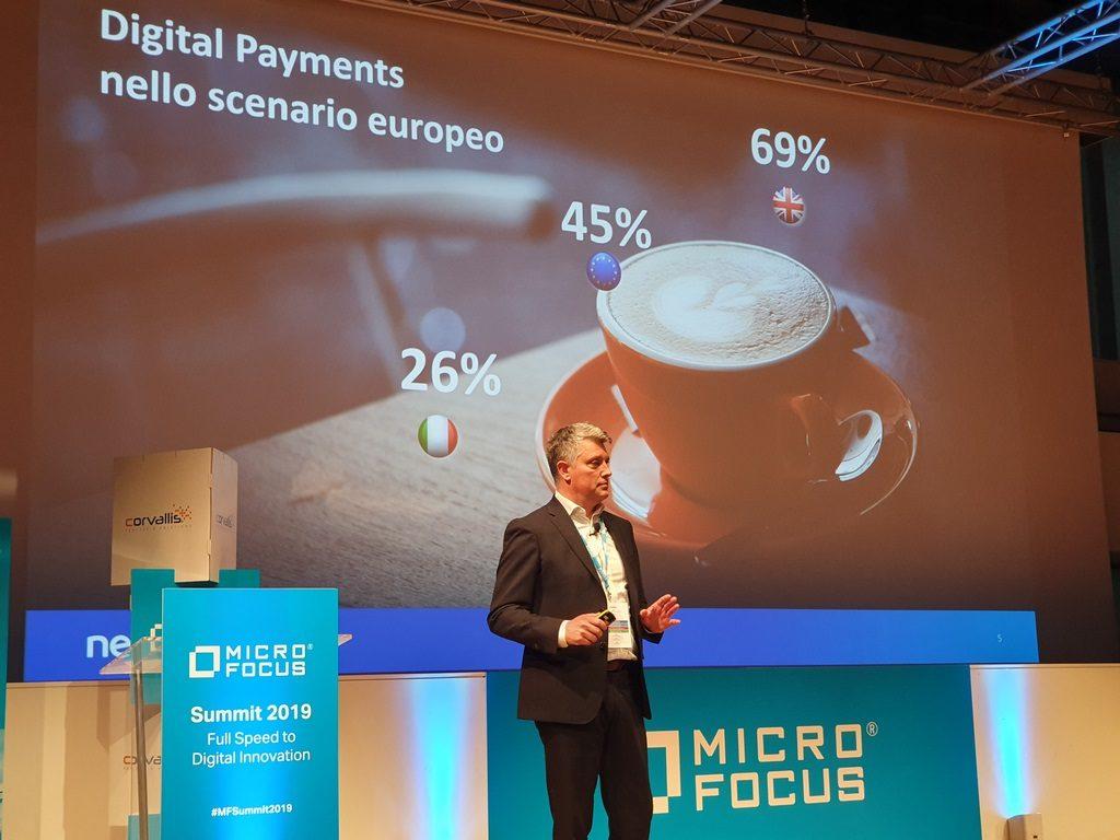 Micro Focus Summit 2019 - Marco Valioni Cio e Cto Nexi Group