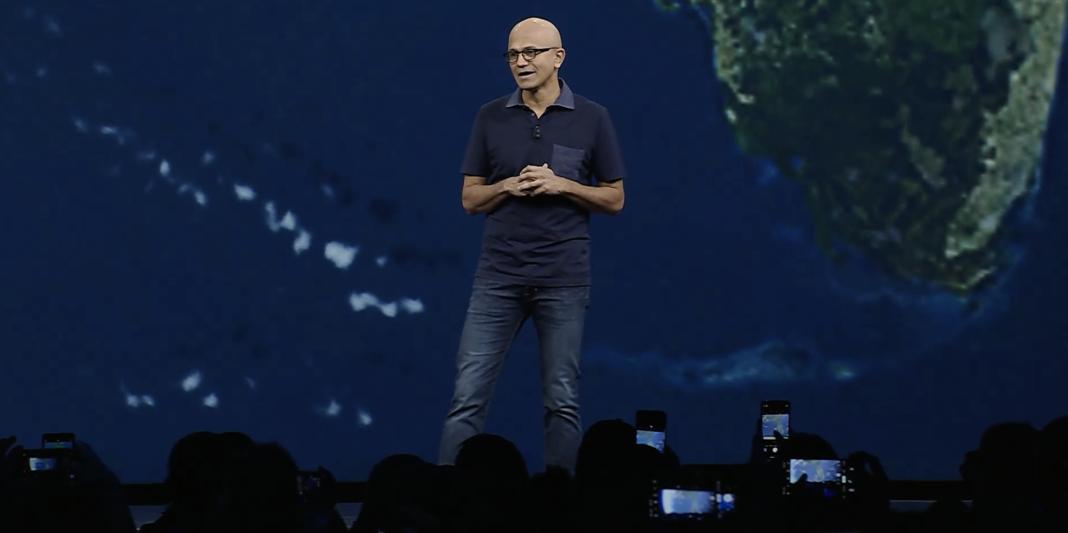 Microsoft Ignite 2019 Satya Nadella