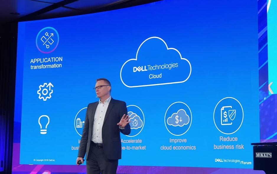 Dell Technologies Forum 2019 Nigel Moulton,