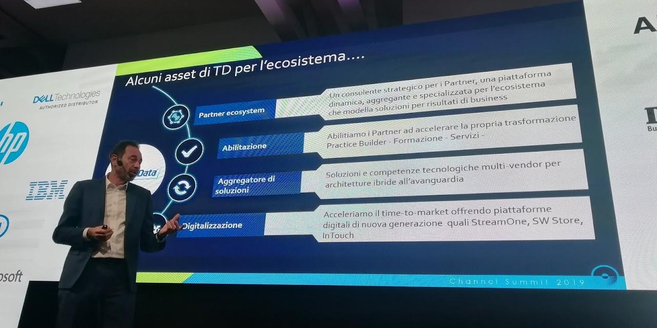 Riccardo Nobili,advanced solutions director diTech Data