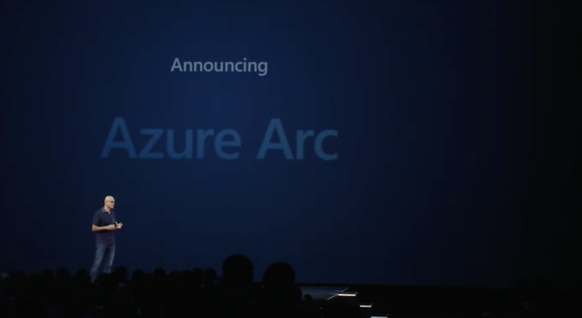 Satya Nadella annuncia la beta di Azure Arc
