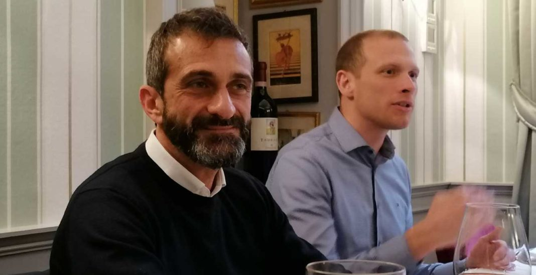 Fabio Buccigrossi, country manager Italia di Eset & Miroslav Mikuš, chief sales officer di Eset