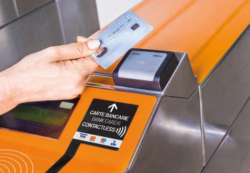 Atm - tornello contactless