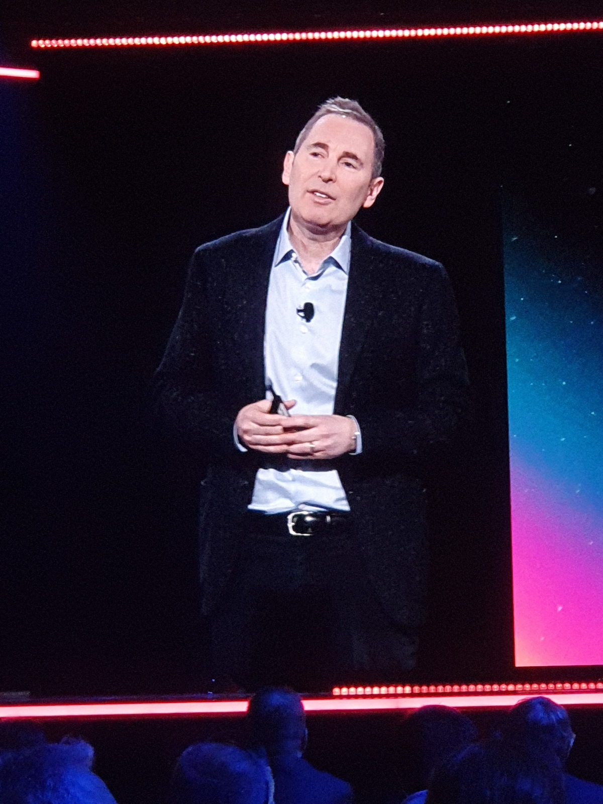 Aws ReInvent 2019 - Andy Jassy, Ceo di Aws