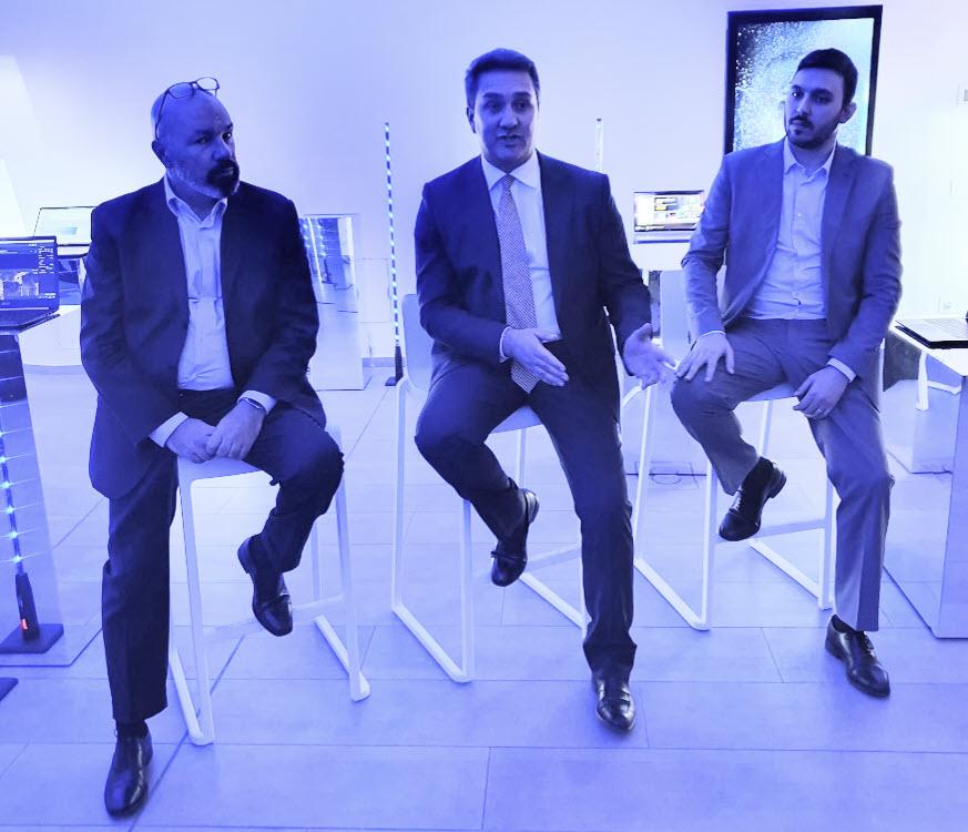 Intel Experience Day - Da sinistra Paolo Canepa, Nicola Procaccio