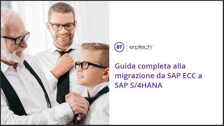 eBook: Guida completa alla migrazione da SAP ECC a SAP S/4HANA