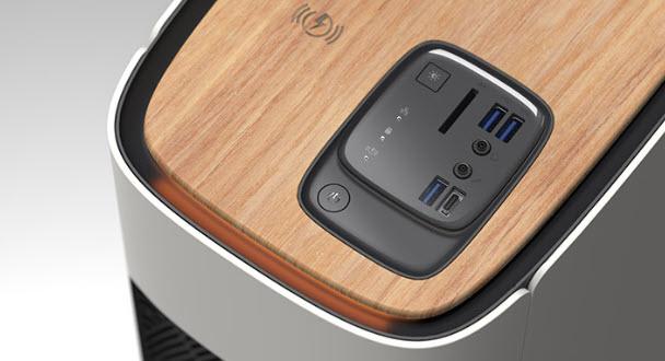 Dettaglio della Workstation Acer ConceptD 500