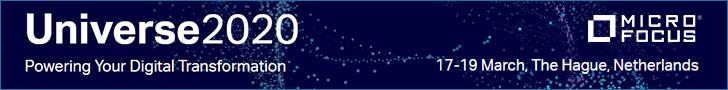 Micro Focus Universe 2020 - 17-19 marzo 2020