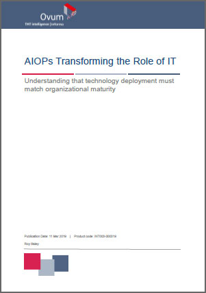 AIOPs Transforming the Role of IT
