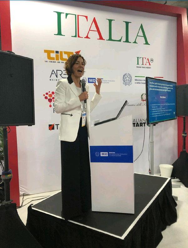 Ces 2020 - Paola Pisano, Ministro per l'innovazione tecnologica e la digitalizzazione