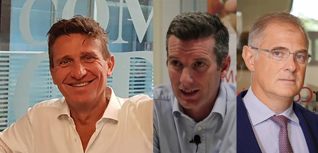 Duccio Castellacci, Ceo di Computer Gross - Gary McConnell e Antonio Tonani, fondatori di Clever Consulting