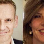Jochen Razum, VP sales and operations Dach & Italy di Quadient - Samantha Turrin, enterprise sales manager di Quadient