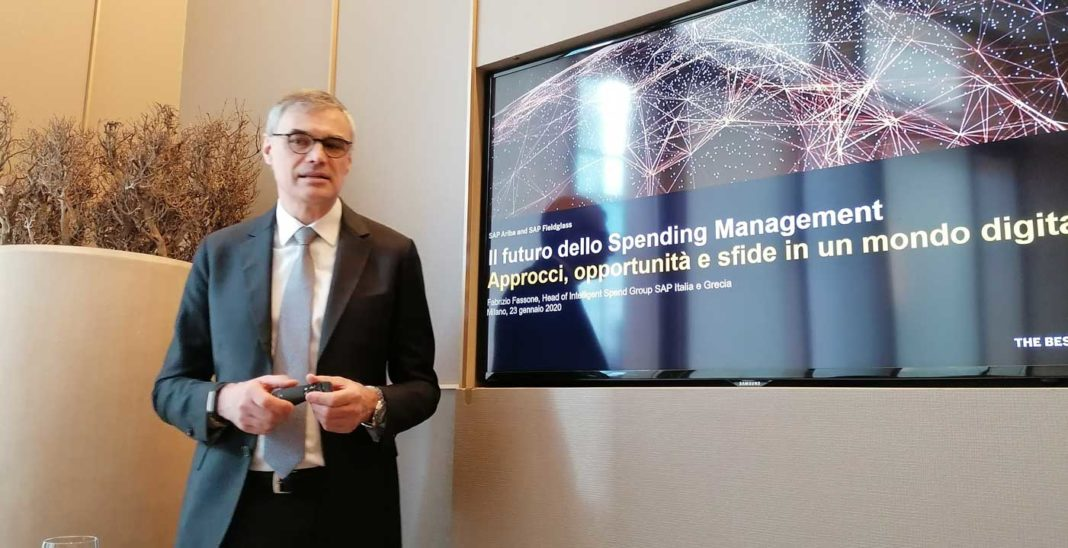 Fabrizio Fassone, Head of Intelligent Spend Management SAP Italia e Grecia