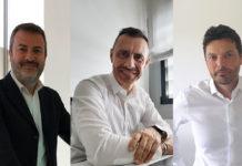 Carlo Siddi, BU manager horizontal market di Teorema Engineering - Stefano Pedone, BU manager, manufacturing di Teorema Engineering - Francesco di Bianco, BU manager finance di Teorema Engineering