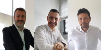 Carlo Siddi, BU manager horizontal market di Teorema Engineering - Stefano Pedone, BU manager, manufacturing di Teorema Engineering - Francesco di Bianco, BU manager finance di Teorema Engineering