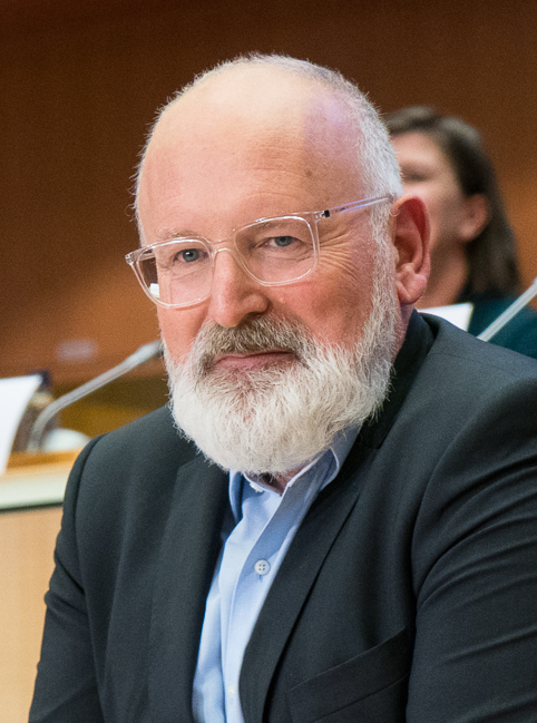 Frans Timmermans, Executive Vice President Commissione Europea per l'European Green Deal