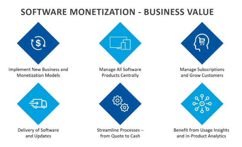 software monetization Business Value (Fonte: Flexera)