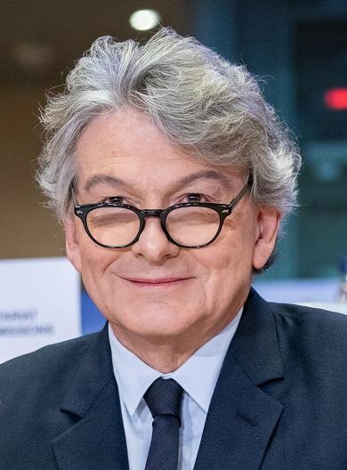 Thierry Breton, Commissario UE per il mercato interno