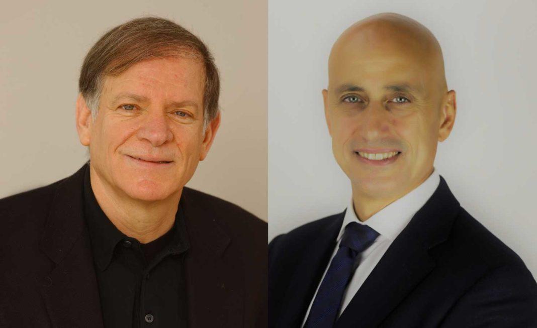 Moshe Yanai, Ceo di infinidat & Donato Ceccomancini, country sales manager Italy di Infinidat