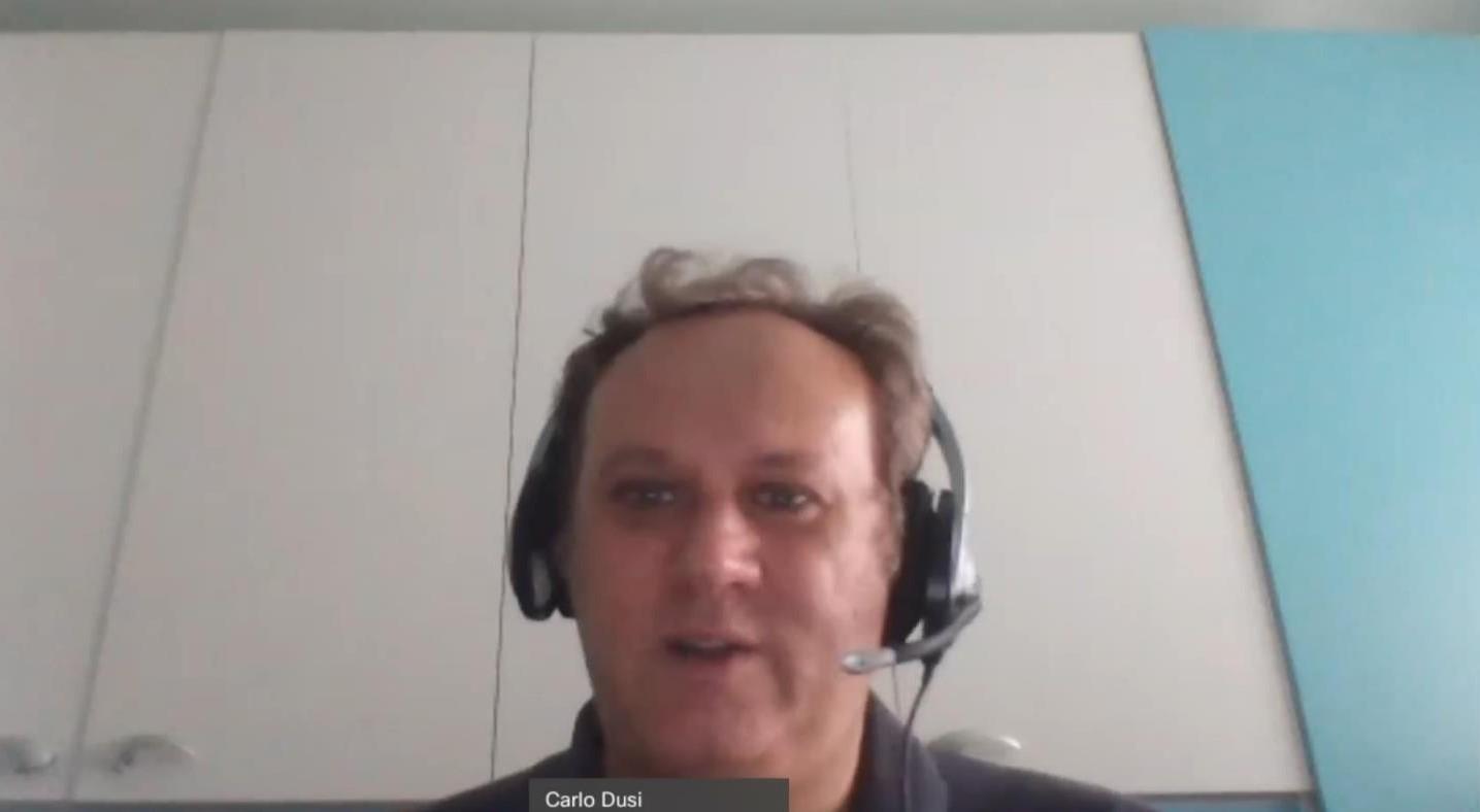 Carlo Dusi,Presales Consultant di Micro Focus