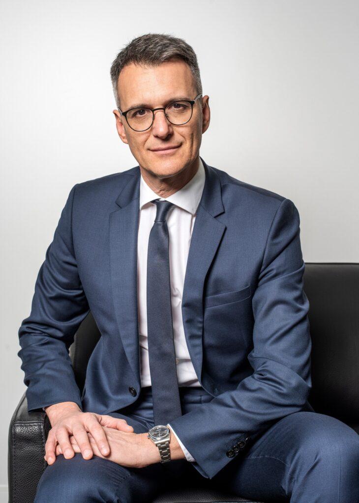 Olivier Micheli, Ceo di Data4 Group