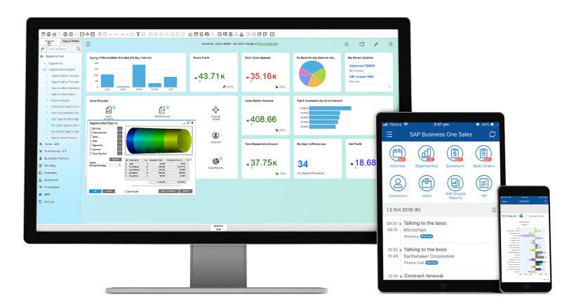 Sap Business One - L'accesso dai diversi dispositivi tra i punti di forza della soluzione secondo l'esperienza delle aziende