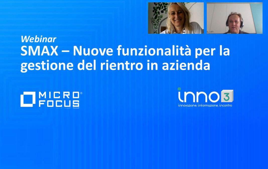 Webinar: Micro Focus Smax per il rientro in azienda