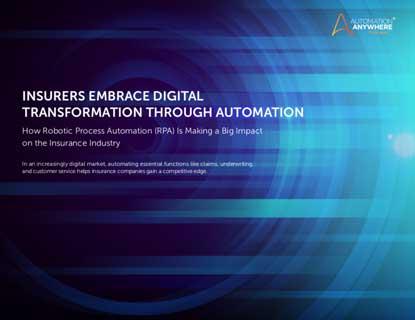 eBook: Insurers embrace digital transformation through automation