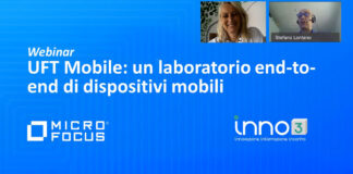 Webinar: Micro Focus UFT Mobile, laboratorio end-to-end di dispositivi mobile