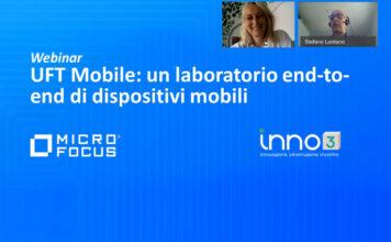 Webinar: Micro Focus UFT Mobile, laboratorio end-to-end di dispositivi mobile