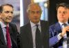 Luigi Gubitosi, amministratore delegato di TIM - Giancarlo Capitani, presidente NetConsulting cube - Marco Gay, presidente di Anitec-Assinform
