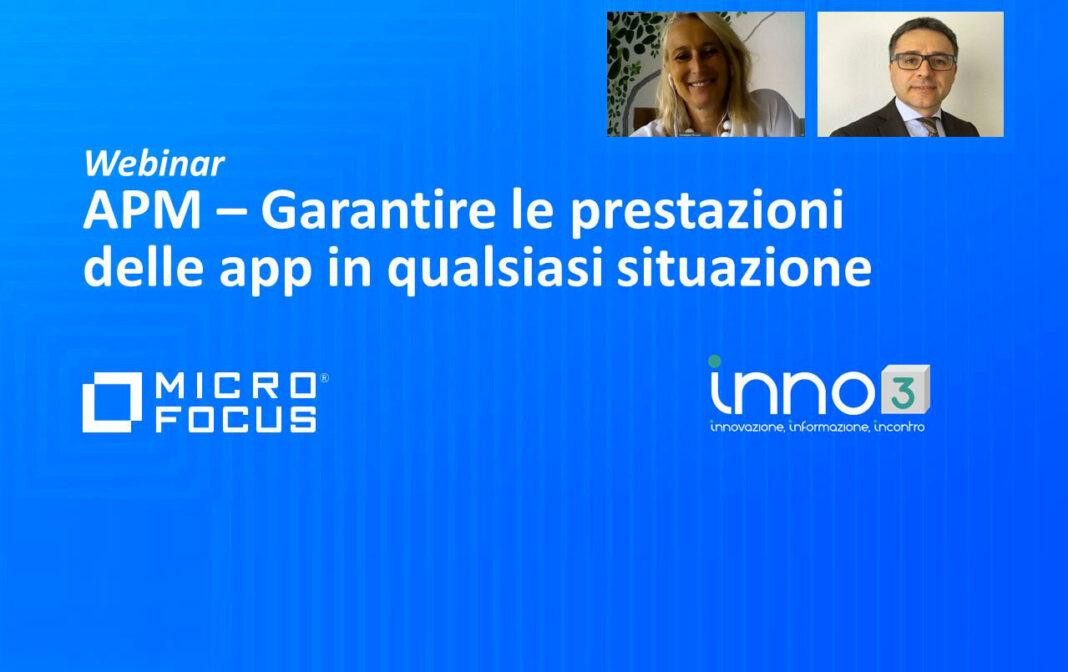 Webinar: Micro Focus APM e le prestazioni delle app