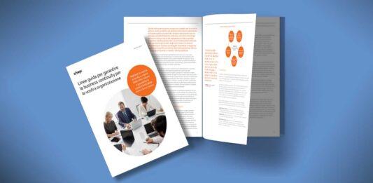 Linee guida per garantire la business continuity per la vostra organizzazione