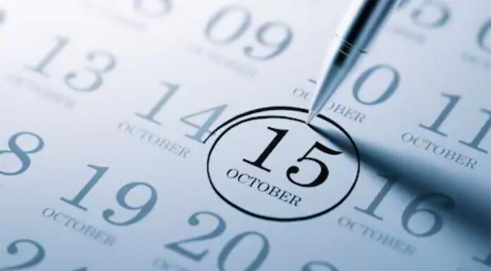 15 ottobre